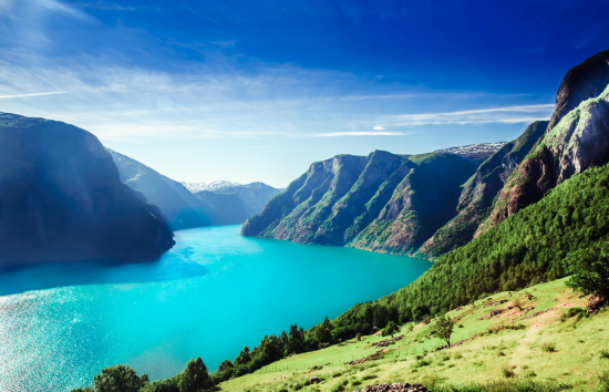 The breathtaking fjords of Norway