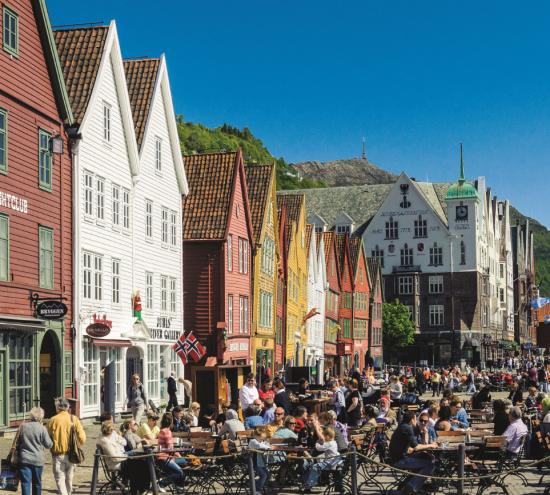 Bergen Old Town Norway