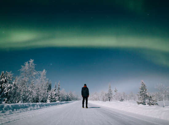 The Northern Lights in Finland will stop you in your tracks.