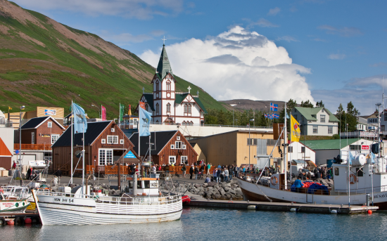 Icelandic communities reliant on what the sea can provide.