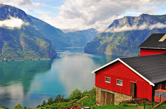 A stunning Norwegian fjord