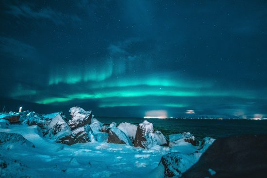 Hunting the Northern Lights by Land & Sea