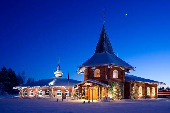 Christmas House in Santa Claus Village, Rovaniemi