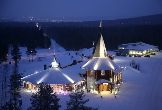 Christmas House in Santa Claus Village, Rovaniemi