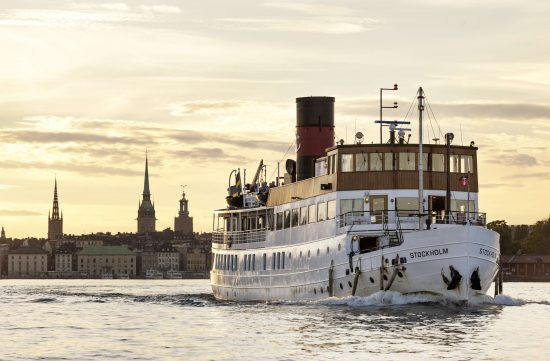 See the Stockholm archipelago by boat.