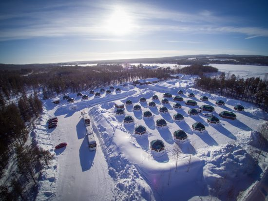 Arctic SnowHotel and Glass Igloos in Rovaniemi