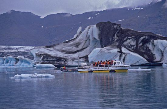 Jokulsarlon Glacial lagoon boat trip