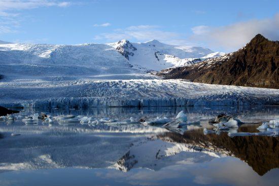 Vatnajökull National Park and glacier